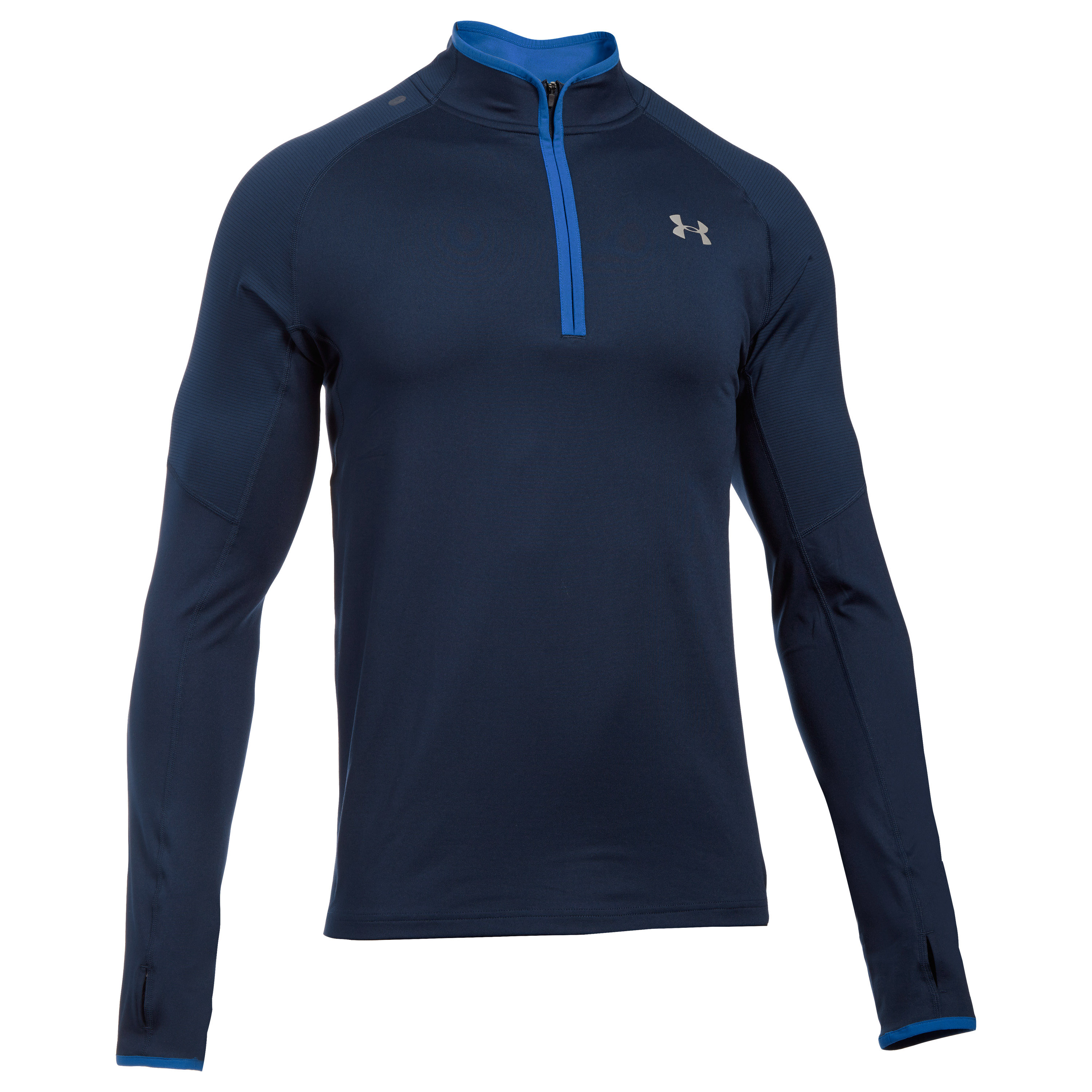 Under Armour Langarmshirt NoBreaks 1/4 Zip blau