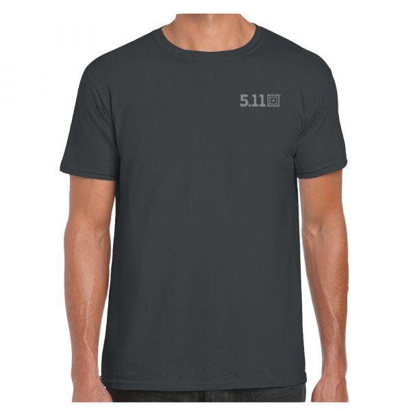 5.11 T-Shirt Viking Skull grey