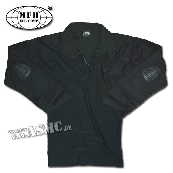 US Combat Shirt MFH schwarz
