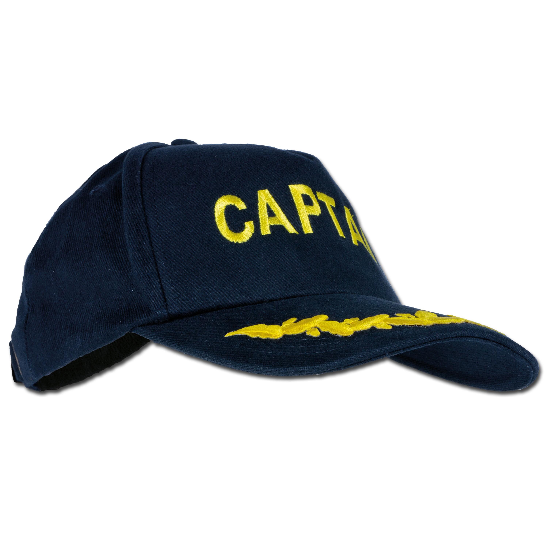 Baseballcap bestickt Captain