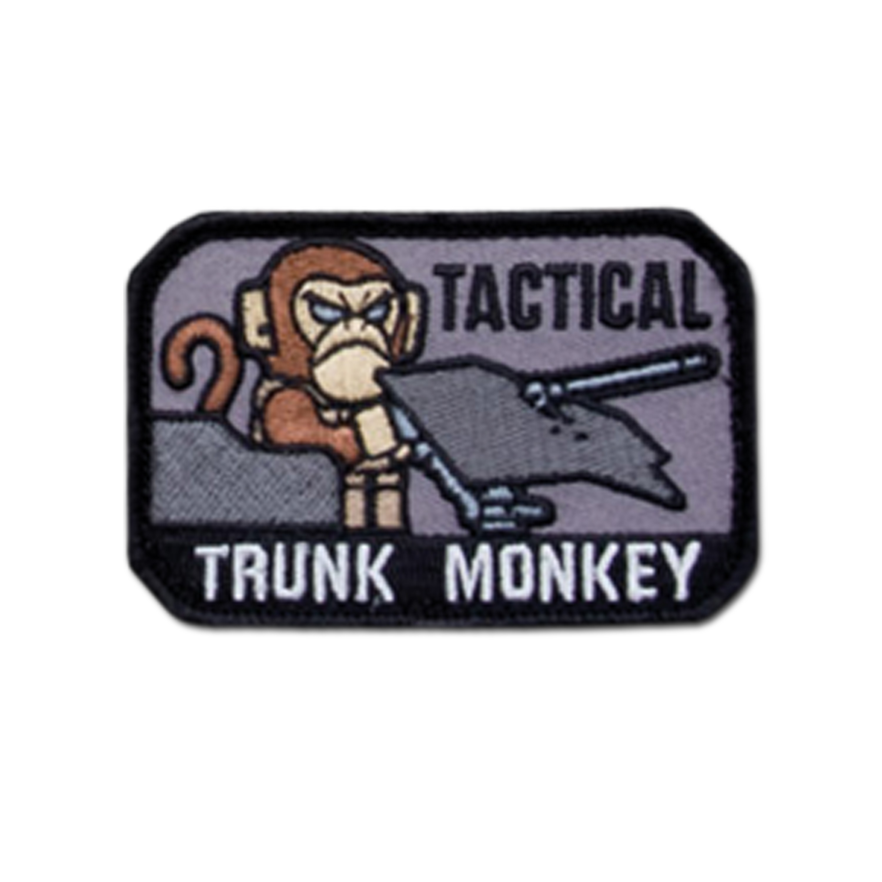 MilSpecMonkey Patch Tactical Trunk Monkey swat