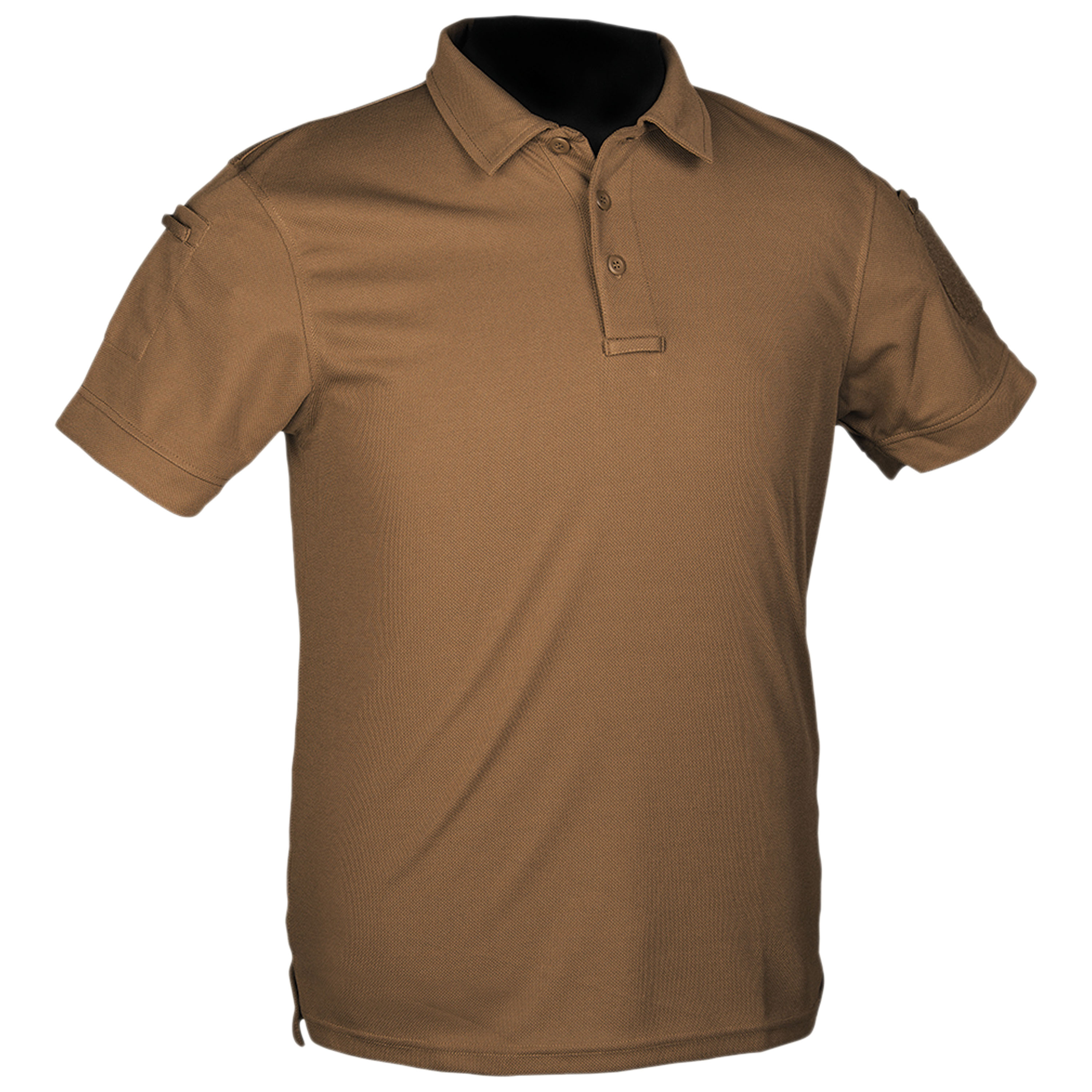 Poloshirt Tactical Quickdry dark coyote