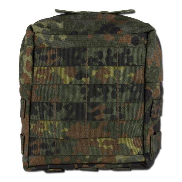 Zentauron Reissverschlusstasche Large flecktarn