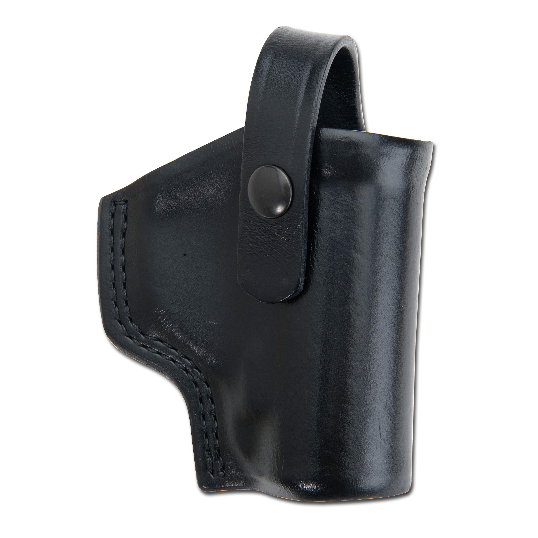 Holster mace Pepper Gun Leder