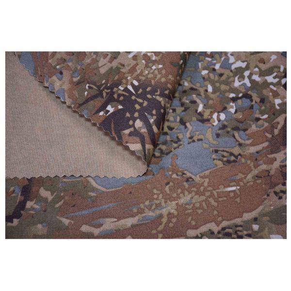 Concamo Uniformstoff Mischgewebe concamo brown Meterware