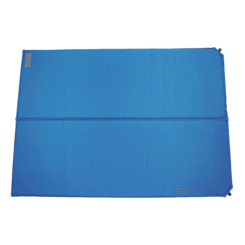 Highlander Selbstaufblasende Matte Base blau