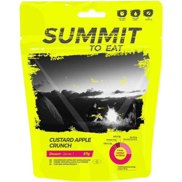 Summit to Eat Vanillepudding mit Äpfeln und Knusperstückchen
