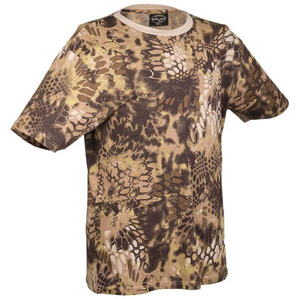 T-Shirt Tarn mandra tan