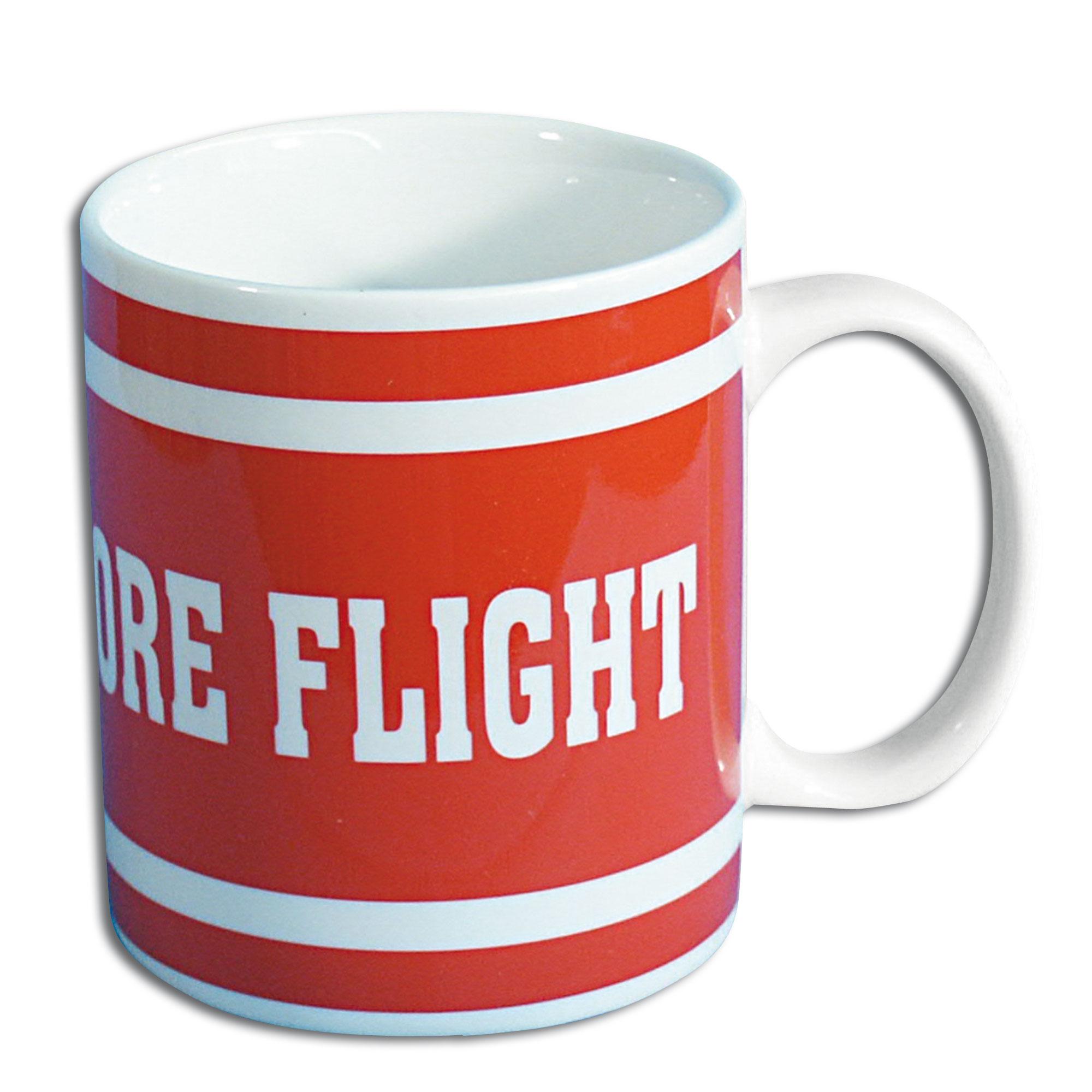 Tasse Remove before Flight