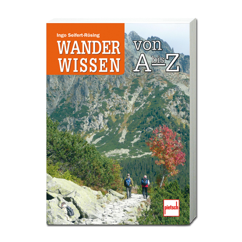 Buch Wanderwissen von A bis Z