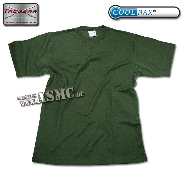 T-Shirt CoolMax oliv