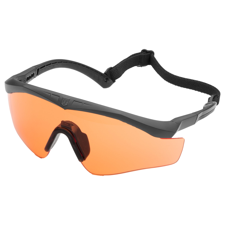 Revision Brille Sawfly Max-Wrap Basic orange
