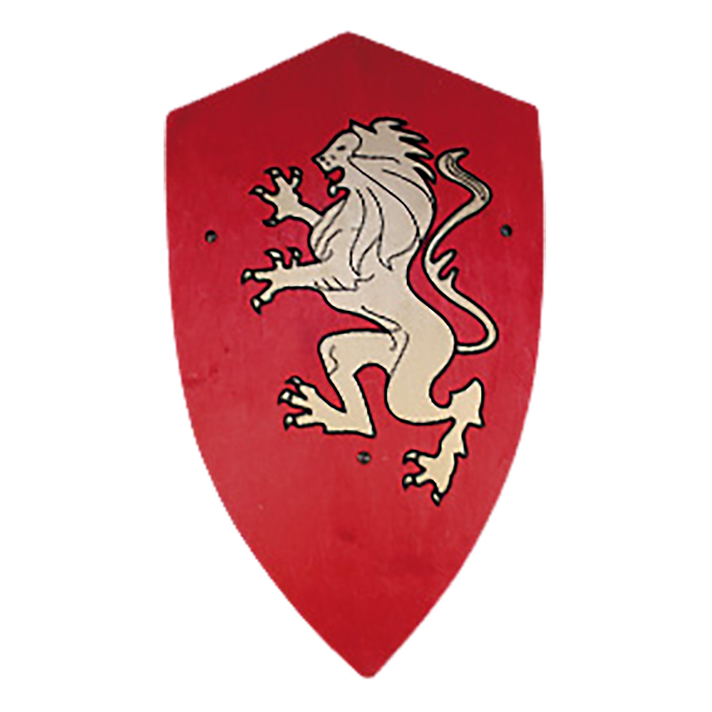 Königsschild rot