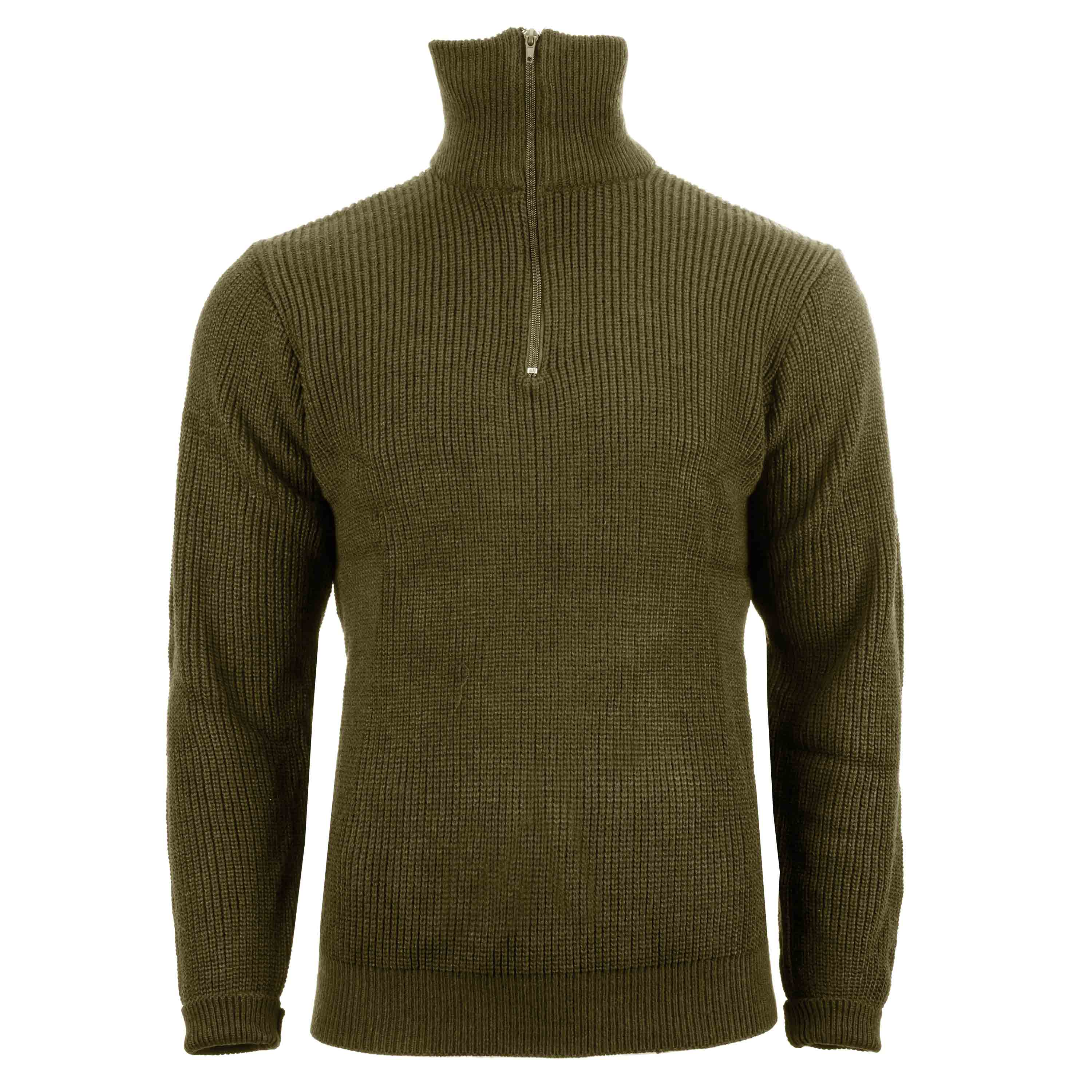 Pullover Troyer Acryl oliv