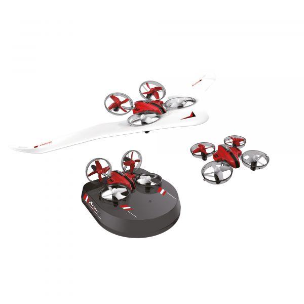 Amewi Drohne Air Genius weiß rot