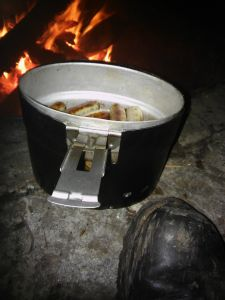 Kochgeschirr schwedisch mit Koch