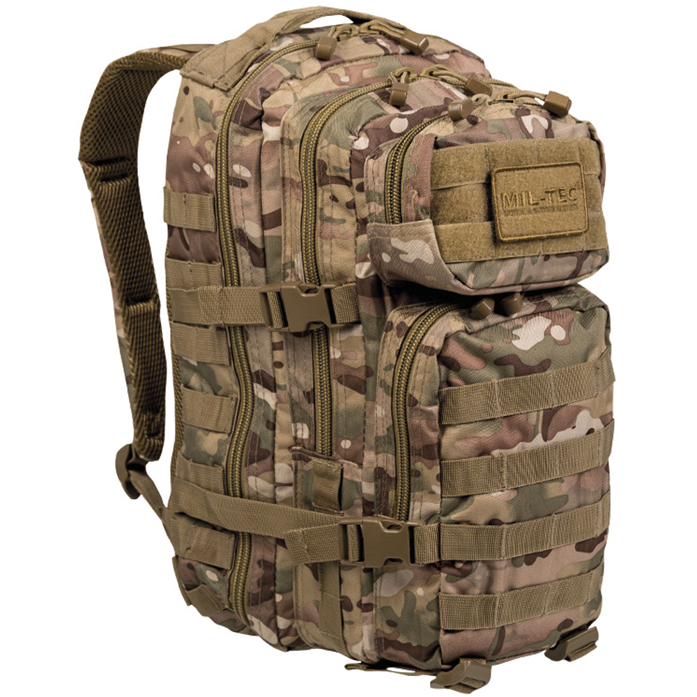 Rucksack US Assault Pack multitarn