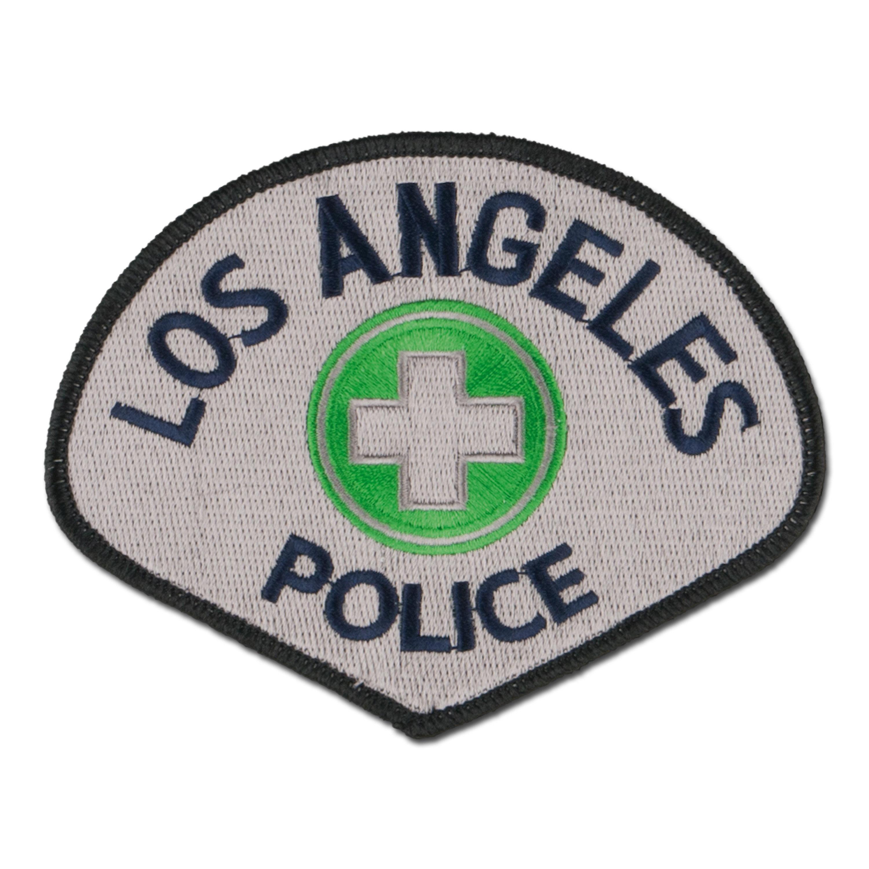 Abzeichen US Textil Los Angeles Police