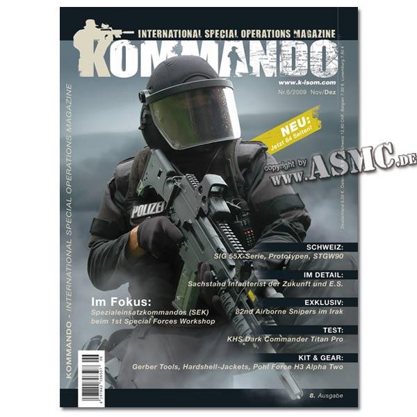 Kommando Magazin K-ISOM Ausgabe: 08
