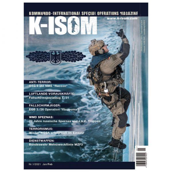 Kommando Magazin K-ISOM Ausgabe 01-2021