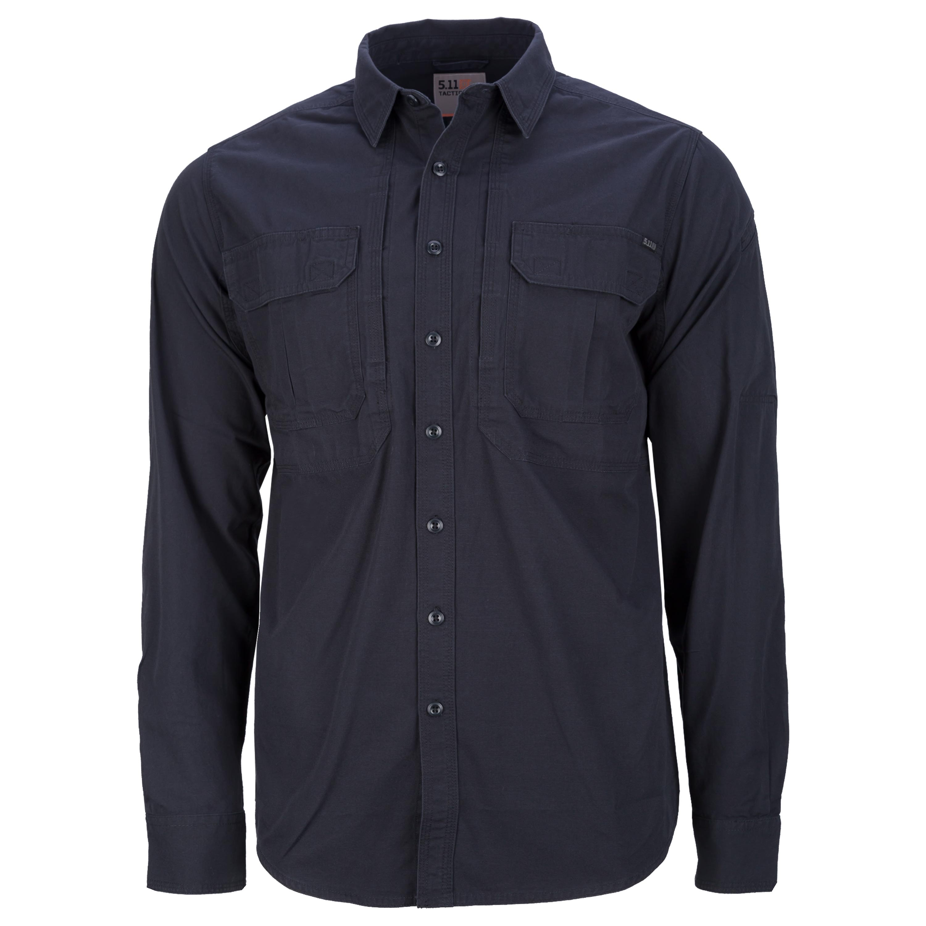 5.11 Hemd Expedition Longsleeve Shirt stone wash black ash