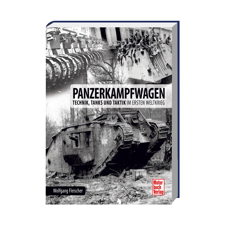 Buch Panzerkampfwagen – Technik Tanks und Taktik