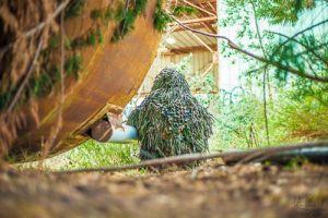 Ghillie Jackal woodland