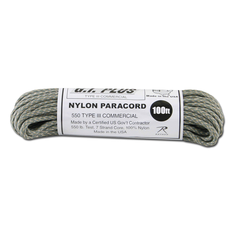Paracord 550 lb AT-digital 100 ft. Nylon
