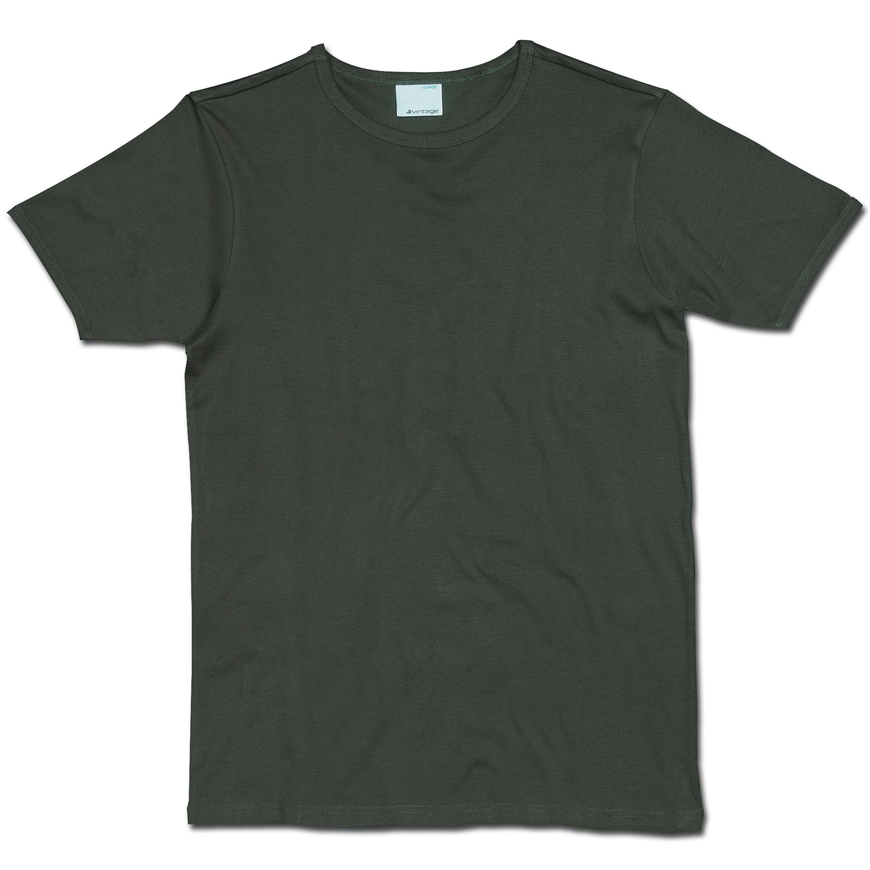 T-Shirt Vintage Industries Morrow oliv