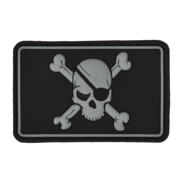 3D-Patch Pirate Skull swat