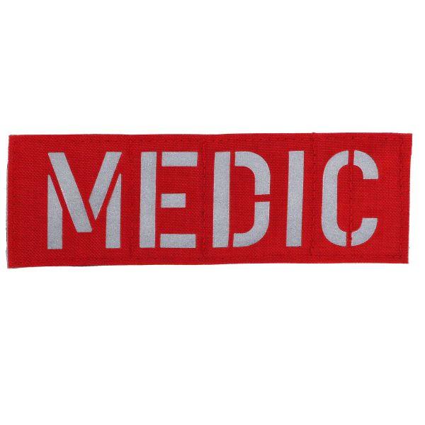 Zentauron Patch MEDIC rot silber reflex