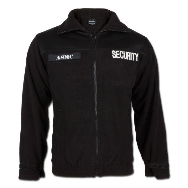 Security Fleecejacke Mil-Tec schwarz