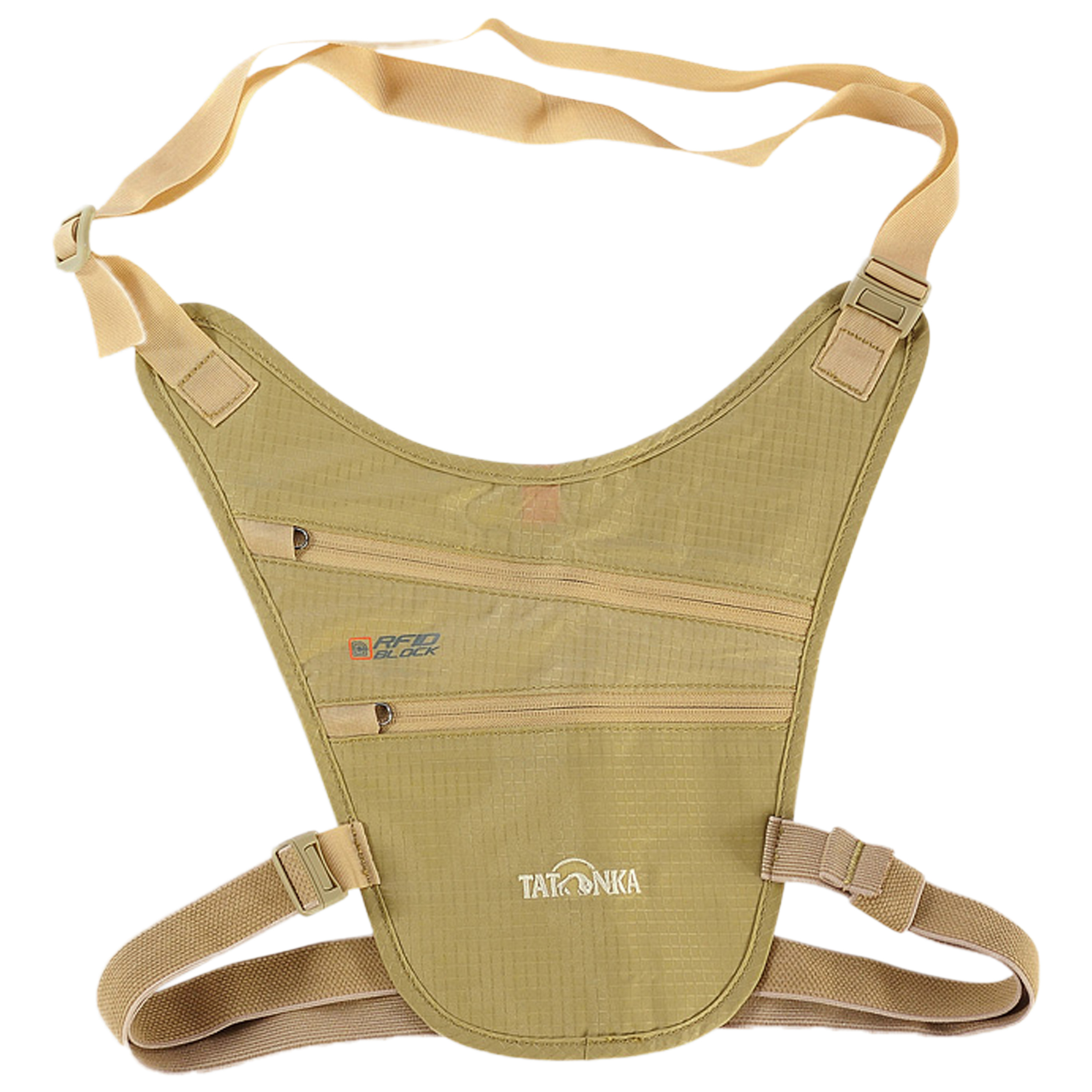 Tatonka Skin Chest Holster RFID B tan