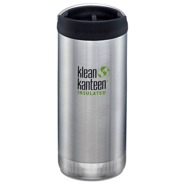 Klean Kanteen Trinkflasche TK Wide VI brushed stainless 355 ml
