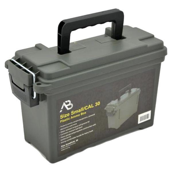 Munitionskiste US Kunststoff Cal. 30 oliv