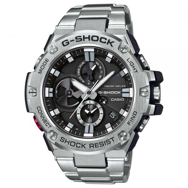 Casio Uhr G-Shock G-Steel GST-B100D-1AER silber