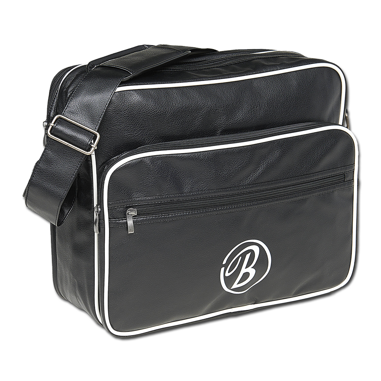 Umhängetasche Brandit Collegebag schwarz