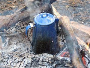 Kaffee am Feuer...