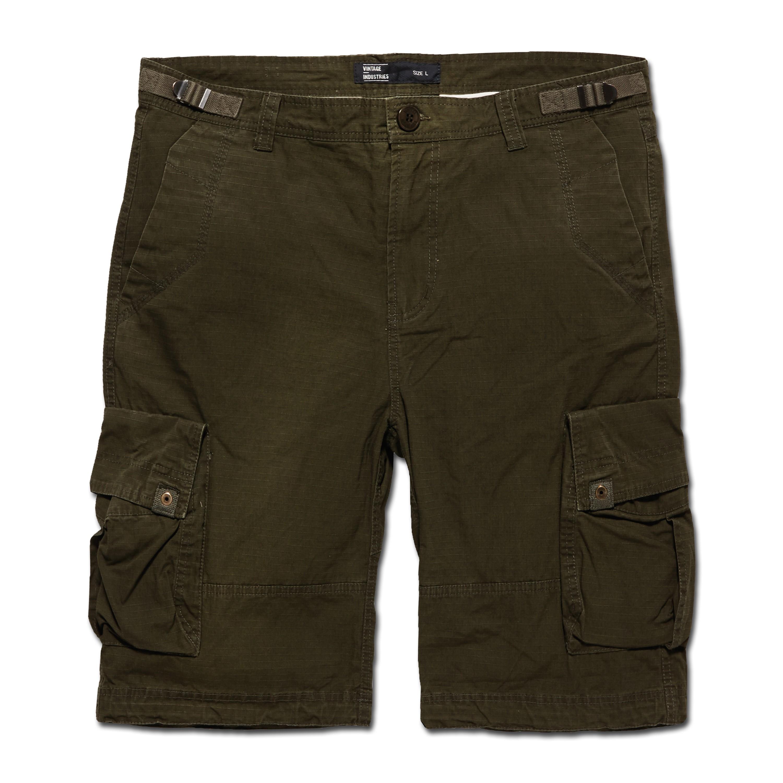 Shorts Vintage Industries Terrance dunkeloliv