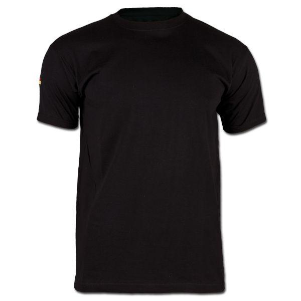BW Unterhemd Tropen ohne Klett schwarz