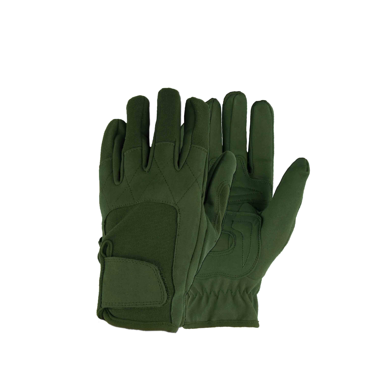 Fingerhandschuhe Neopren MFH Worker light oliv