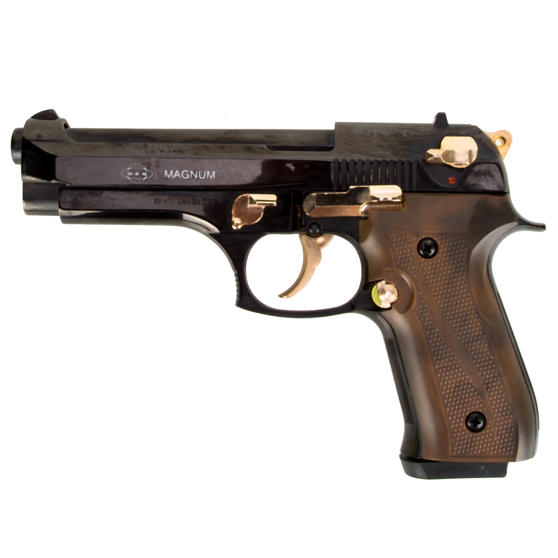 Ekol Pistole Magnum schwarz-gold