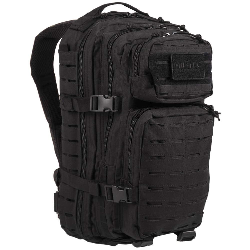 Rucksack US Assault Pack SM Laser Cut schwarz