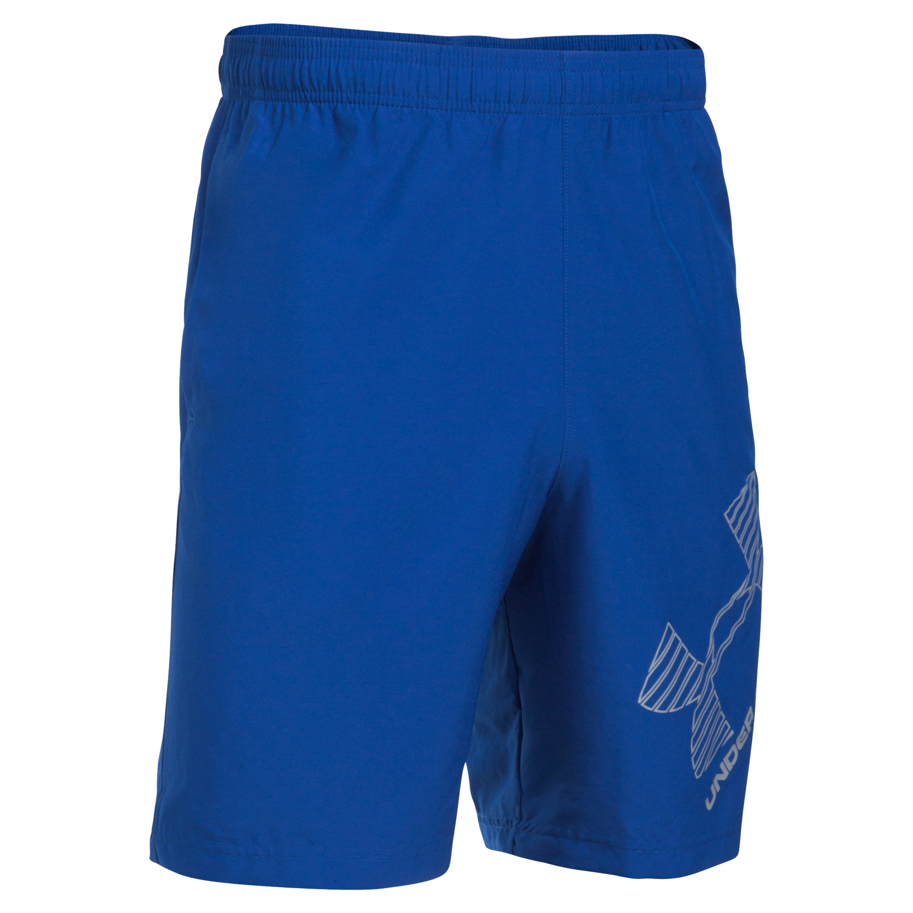 Under Armour Fitness Short Woven Graphic blau
