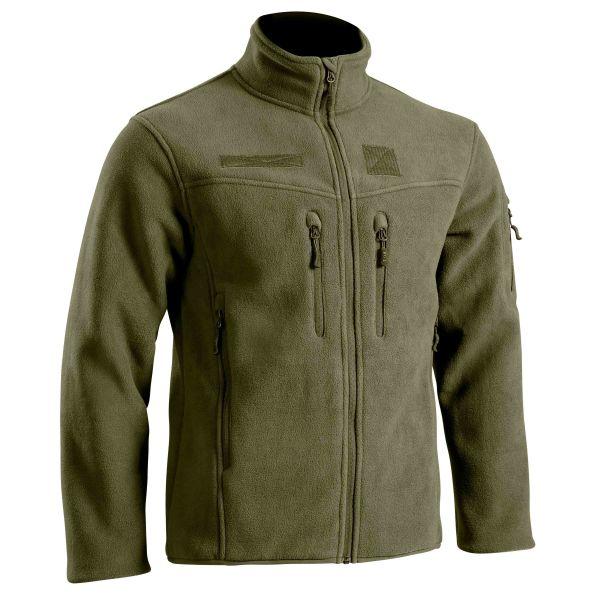 TOE Concept Fleece Jacke Militär Defender Field oliv