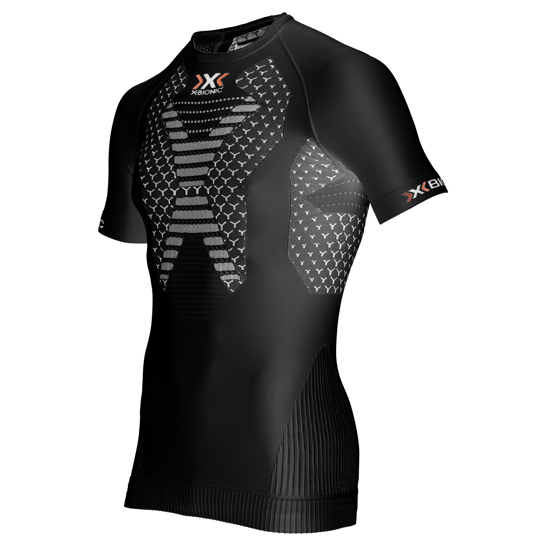 X-Bionic Shirt Running Man Twyce schwarz weiß