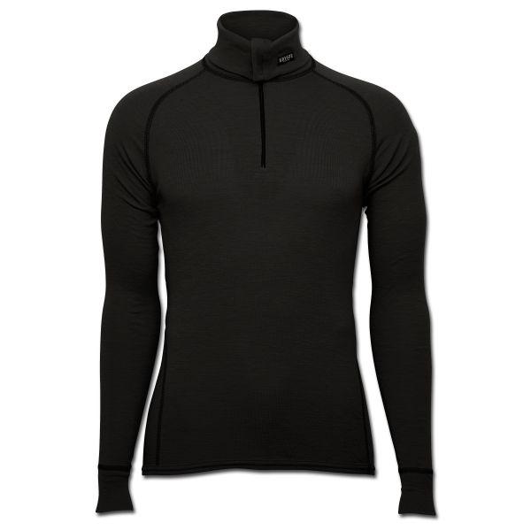 Brynje Zip-Poloshirt Classic schwarz