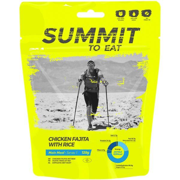 Summit to Eat Mexikanisches Hühnchen Fajita mit Reis