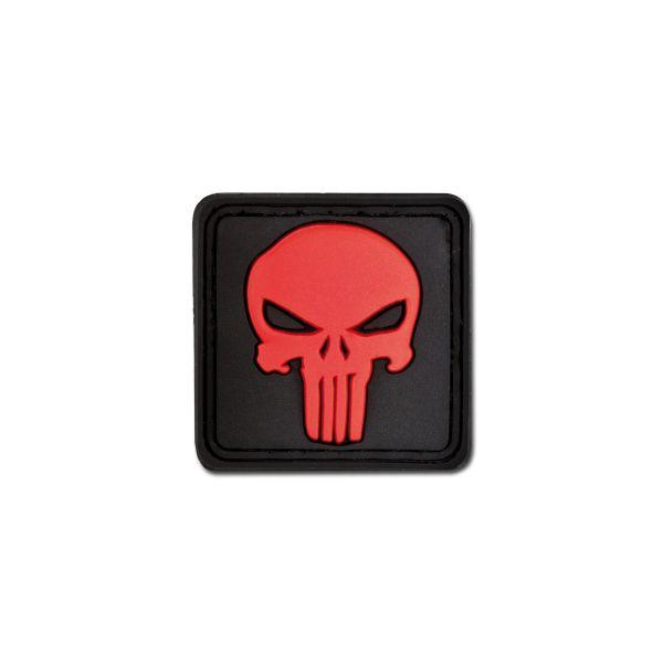 3D-Patch Punisher Skull blackmedic