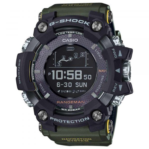 Casio Uhr G-Shock Rangeman GPR-B1000-1BER schwarz oliv